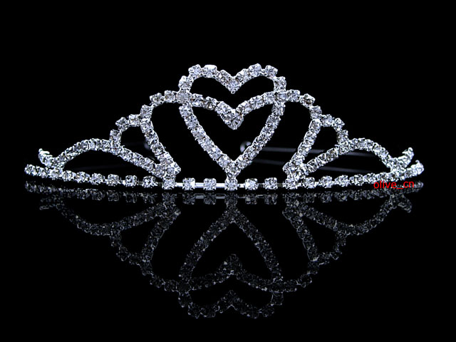 Kids Flower Girl Children Wedding Prom Tiara Crown